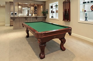 professional pool table setup in Seattle
