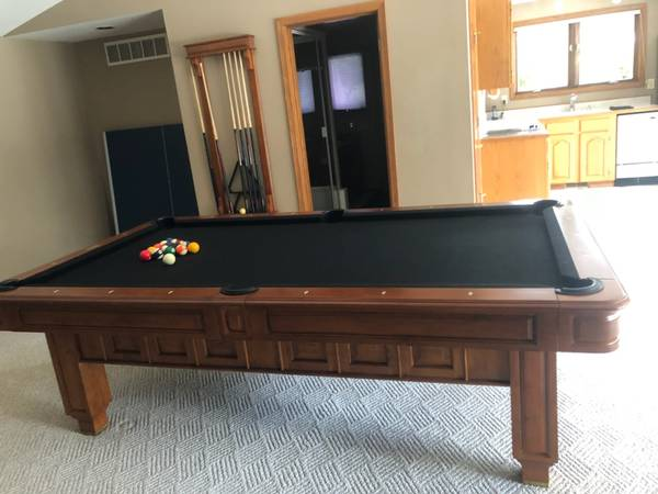 SOLO® - Mill Creck - Thomas Aaron Pool Table-15