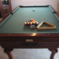 Murrey Model Antique Pool Table