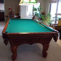 Balmoral Pecan Pool Table