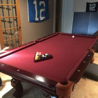 Beautiful Pool Table/Tennis Set