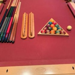 Olhausen Pool Table Featuring Accu-Fast (SOLD)