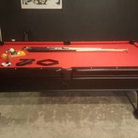Pool Table 8ft by 4ft. Spencer Marston