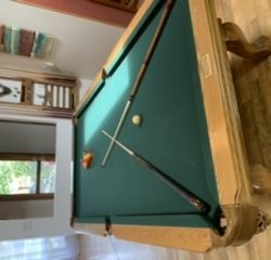 Custom Connelly Big Eight Pool Table