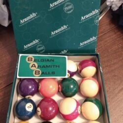 Belgian Aramith Billiard Balls - New