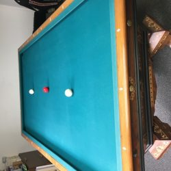1870's Antique Brunswick-Balke-Collender Billiard Table