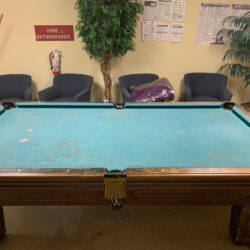 Free Pool Table - Solid Slate and Original Solid Wood