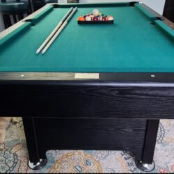 FREE 7x4 green pool table, need gone ASAP